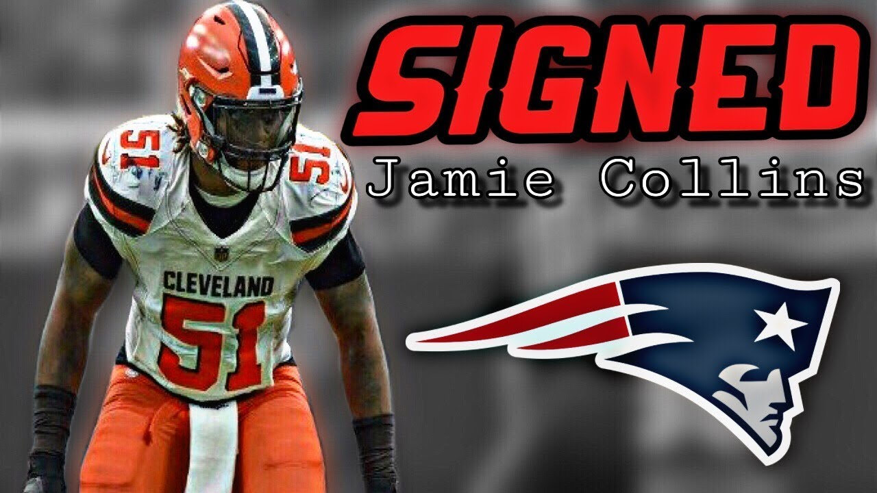 Patriots sign linebacker Jamie Collins