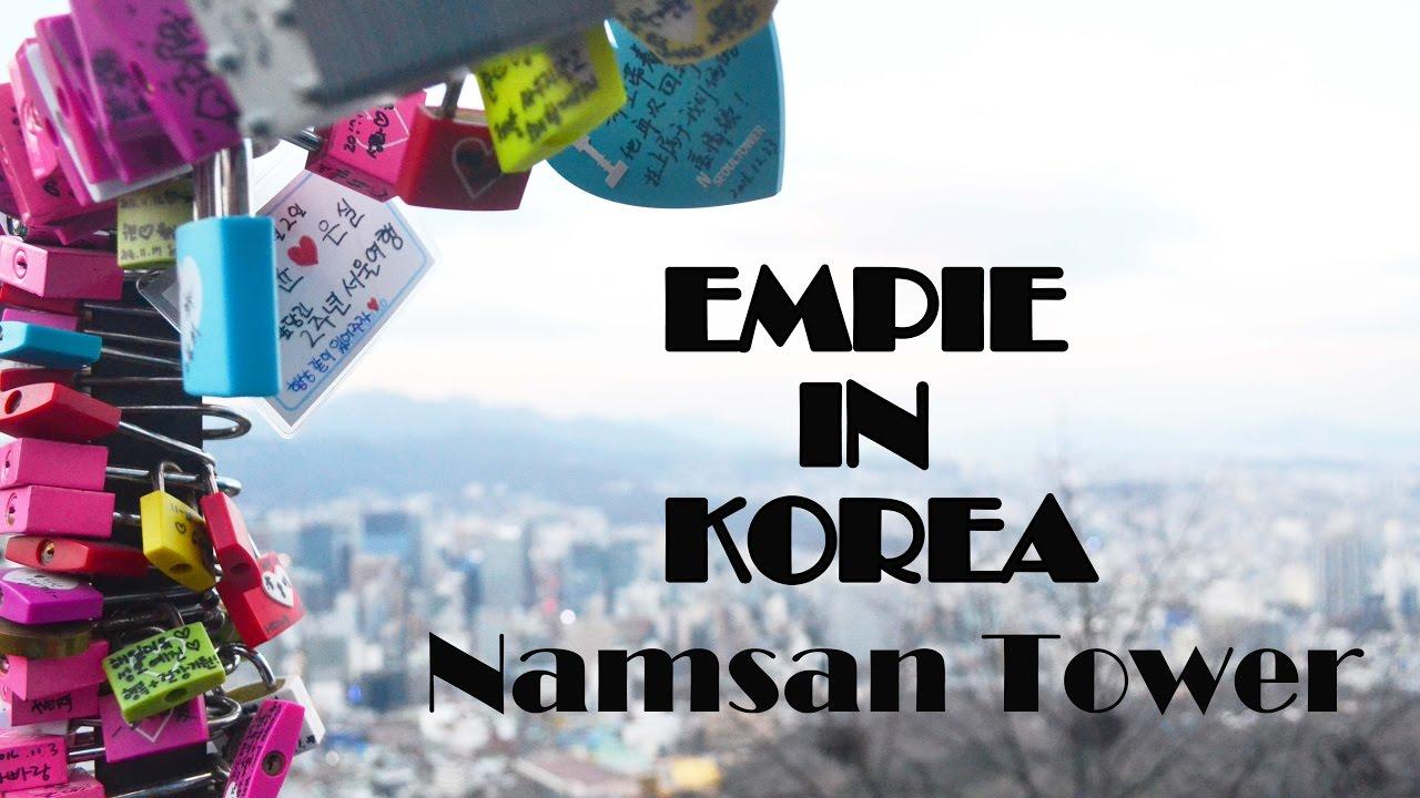 korea winter trip namsan tower youtube. Black Bedroom Furniture Sets. Home Design Ideas