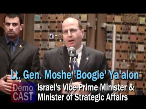 Israel's Moshe Ya'alon: 'Global resistance against Islamism warrants sober Mid-East policy'