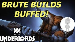 Buffed Brute Build Bulldozer | Dota Underlords