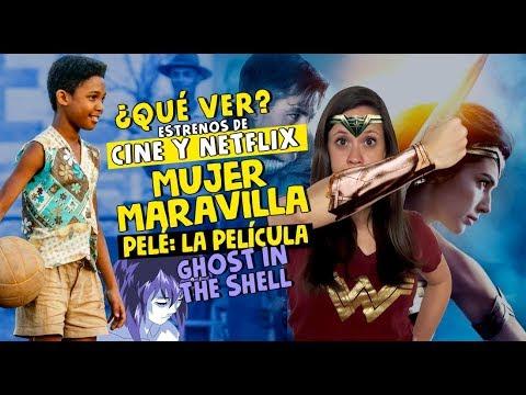 Estrenos Del Fin Mujer Maravilla Ghost In The Shell Anime En Netflix Youtube