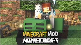 Minecraft Mod: Plantações Realistas !! ( Tratores,Regadores) Extended Farming Mod