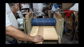 Lixadeira caseira de Cilindro / Rolo/ esteira ( DRUM / ROLLER / DRUM SANDER WITH BELT ) (DIY)
