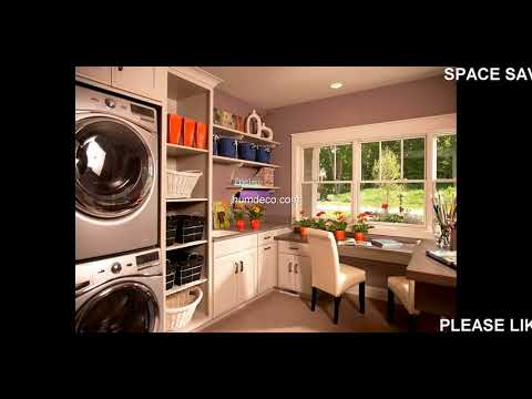 Best 60 + Space Saving Ideas Laundry Room Design Ideas 2018 - Home Decorating Ideas