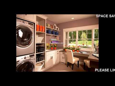 Best 60 + Space Saving Ideas Laundry Room Design Ideas 2018 - Home Decorating Ideas
