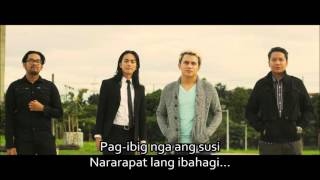 SPONGE COLA Pag-ibig(Dangwa) Lyrics
