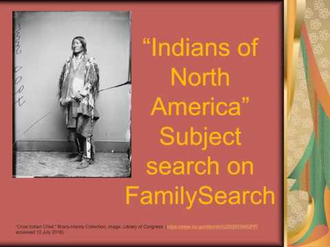 Native American Research By Nicky Smith