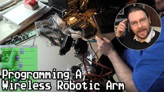 Programming a Wireless Robotic Arm