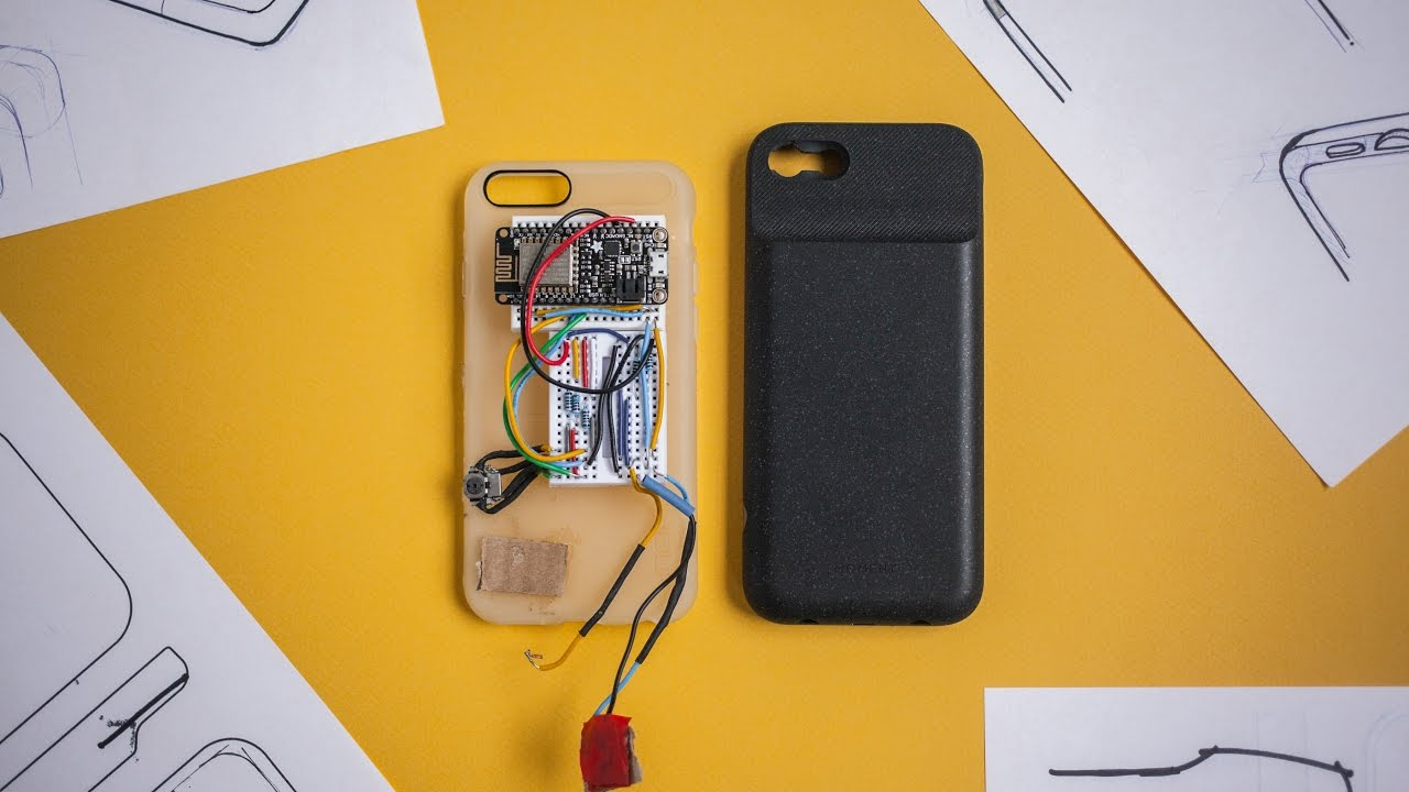 new arrival c886b 80f3c Moment: Designing the Battery Photo Case