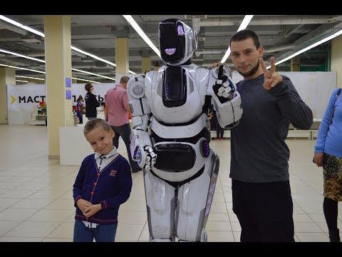 Корпорация роботов | Выставка роботов | Омск. 2017. Обзор выставки.