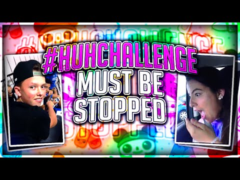 Thumbnail: THE HUH CHALLENGE MUST BE STOPPED!!!