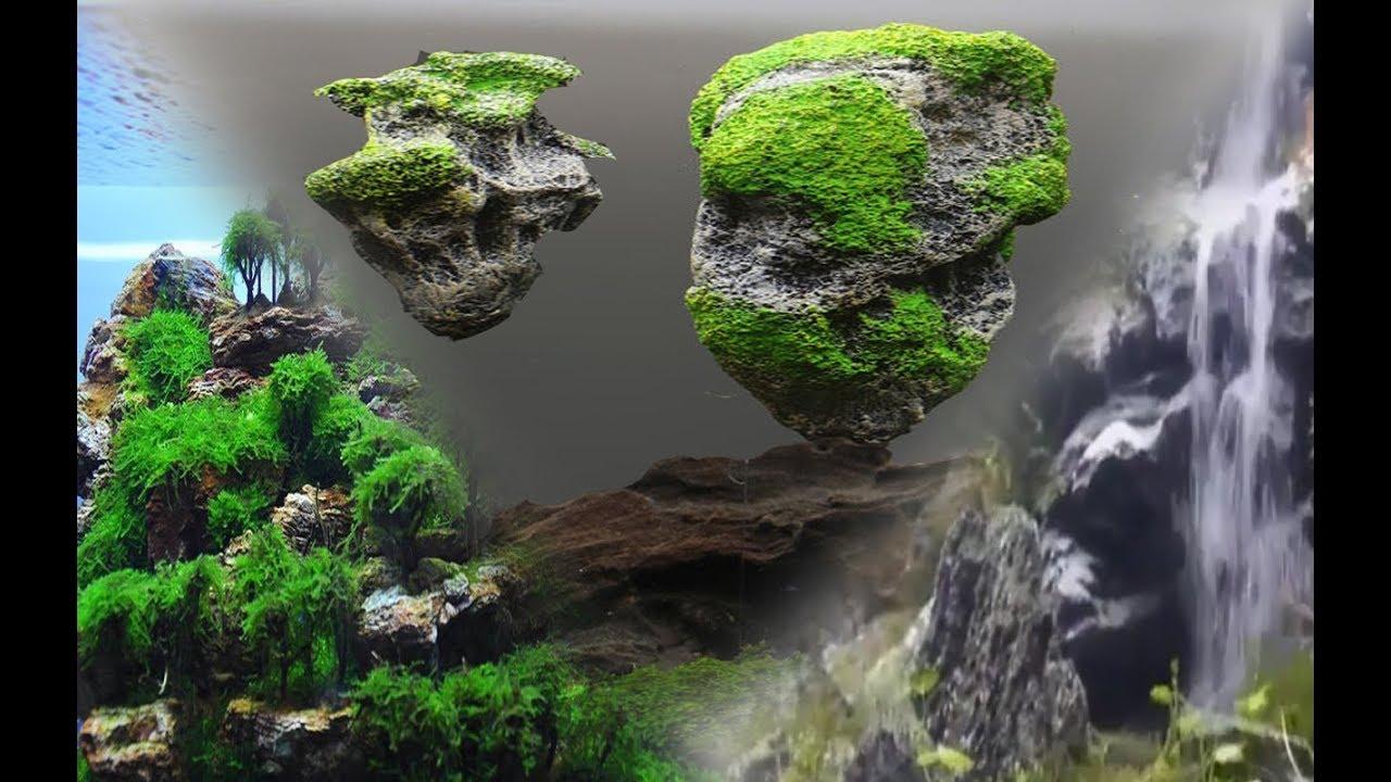 3 ideas geniales para tu acuario cascada de arena rocas for Cascadas con piedras naturales