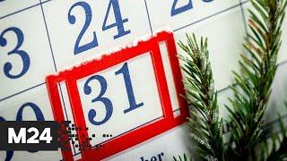 Госдума отклонила законопроект ЛДПР о выходном дне 31 декабря - Москва 24