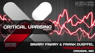 [KSX091] Binary Finary & Frank Dueffel - Trancelation (Original Mix)