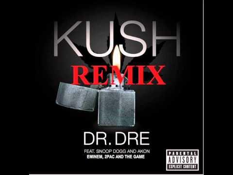 Dr. Dre - Kush Remix ft. Akon, Eminem, 2Pac and The Game (NEW 2012)
