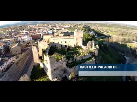 Castillo-palacio de Escalona - Castilla la Mancha -Toledo 4k 60fps Cinema