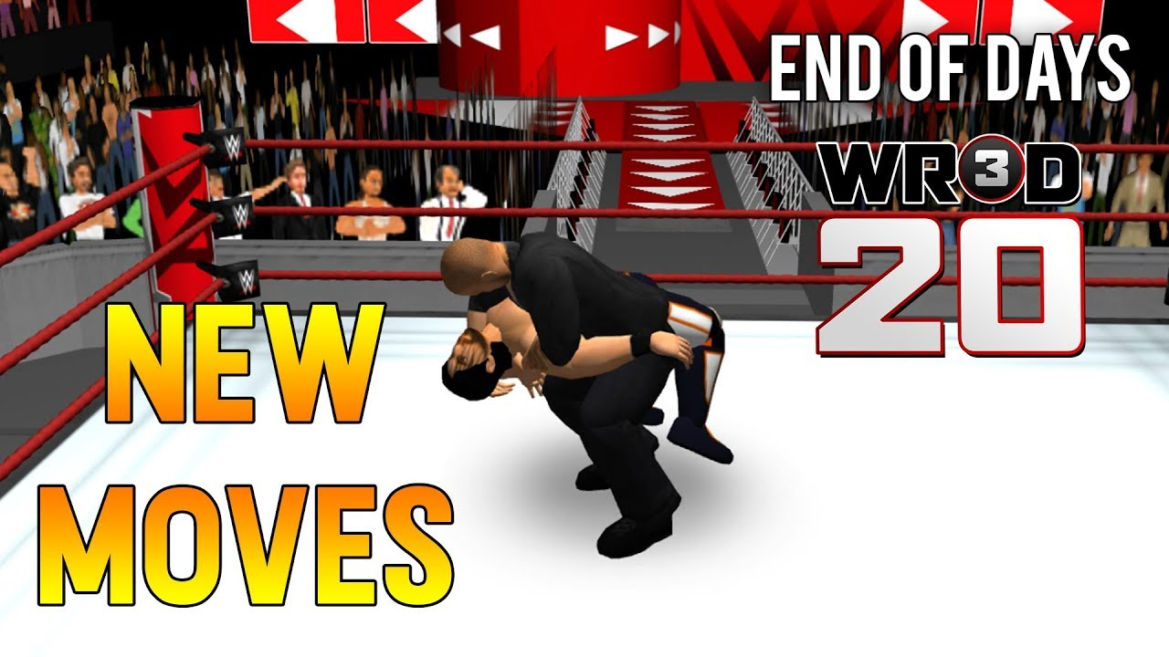 WR3D 15+ New Moves! End Of Days and More- WR3D 20 by HHH
