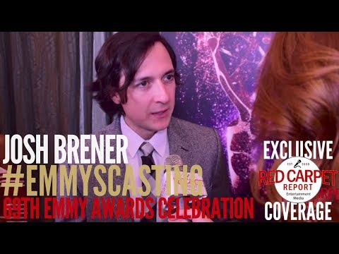 Josh Brener #SiliconValley interviewed at Casting Directors Peer Group Emmy Party #Emmys
