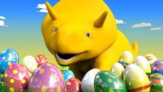 Пасха : Учим цифры и цвета - Динозаврик Дино 👶 Обучающий мультфильм для детей