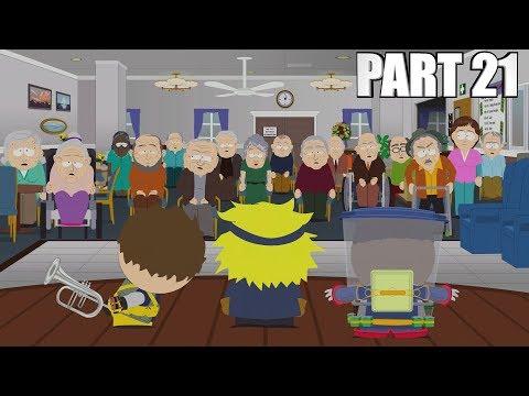 South Park The Fractured But Whole Walkthrough Part 21 - SENIOR CITIZEN ESCAPE