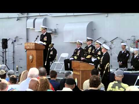 USS Peleliu Decommissioning