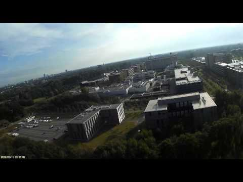 Tricopter camera flight