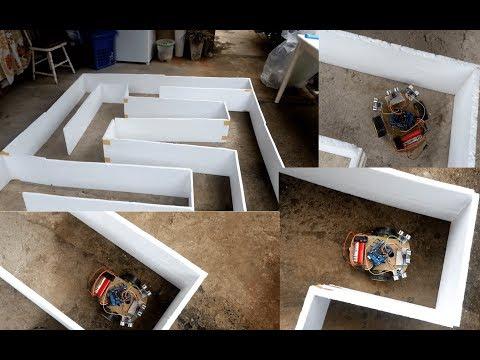 Maze solving Robot using Arduino Satkums Blog