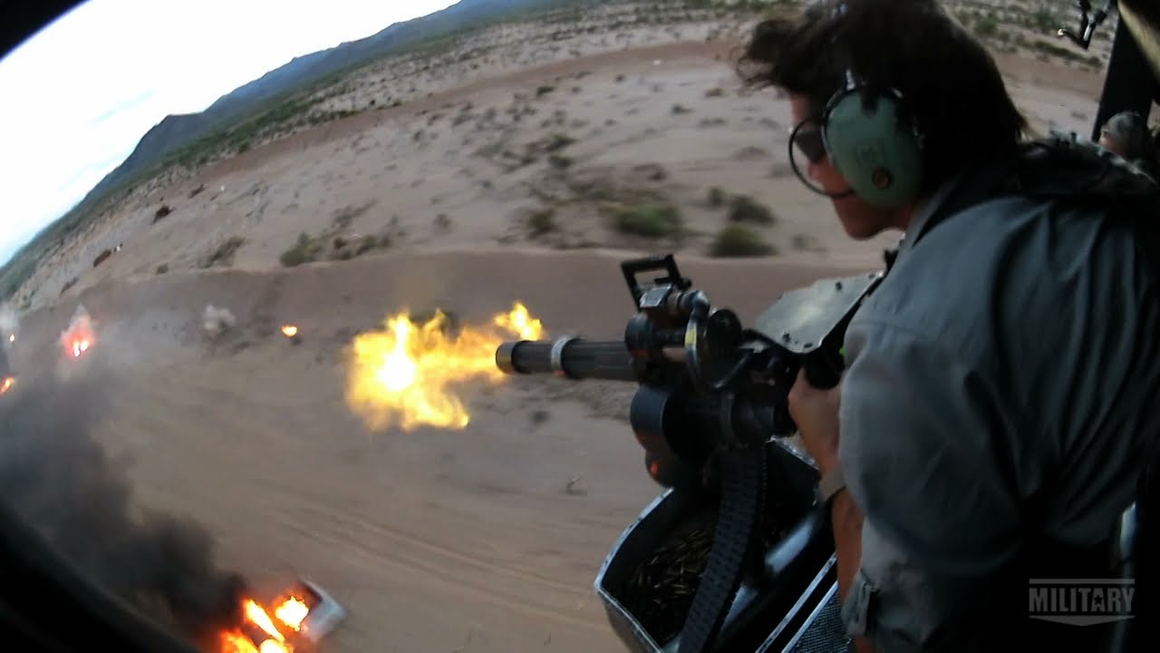 Download Gatling Guns on Land and in the Air | TRIGGERS