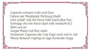 Haftbefehl - Stoppen Sie Mal Officer Lyrics