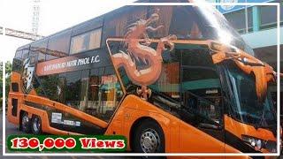 รถบัสทีมสโมสรฟุตบอลไทย