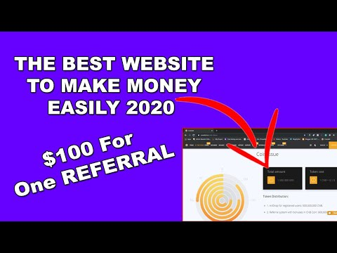 $100 For One Referral - The Best Website To Make Money Easily 2020