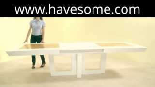 Centre Extendable Dining Table