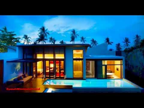 Desain Exterior Rumah Mewah 1 Lantai  20 contoh desain rumah mewah 1 lantai yang modern youtube