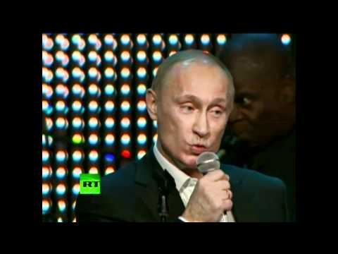 Singing Putin: 'Blueberry Hill'