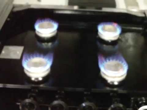 Rv Stove Top Rust Repair 4 Burners Are Fired Up Youtube