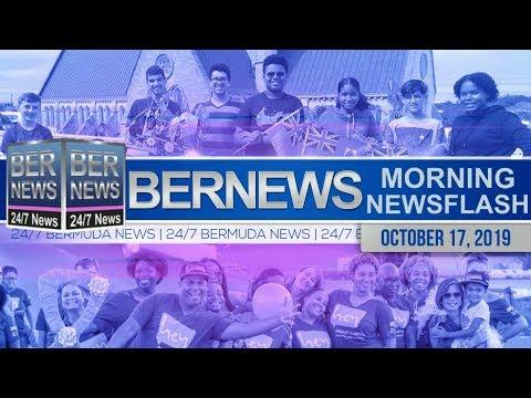 Bermuda Newsflash For Thursday, October 17, 2019