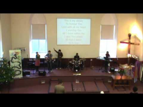 Sunday Morning Worship - Dec 16, 2012, Aberdeen Elim Church