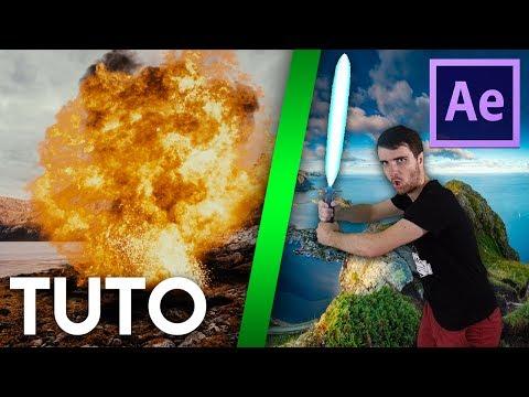 TUTO - INITIATION AUX EFFETS SPÉCIAUX SUR AFTER EFFECTS CC 2017 !!