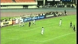 2004 (August 8) Shanghai United (China) 0-Barcelona (Spain) 3 (Friendly)