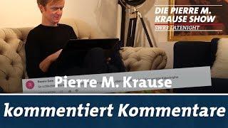 Krause kommentiert Kommentare