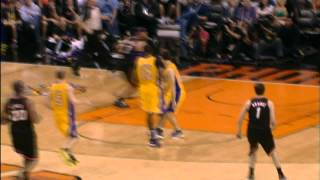 Goran Dragic's lefty pass through Nash's legs! thumbnail