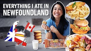 "Everything I Ate In Newfoundland (""All In"" In Canada & Newfie Food Reviews)"