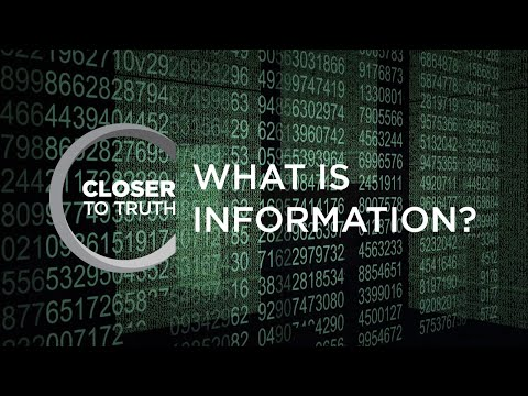 What is Information? | Episode 1403 | Closer To Truth