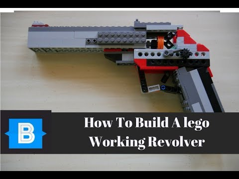 How To Make/Build a Lego Working Revolver