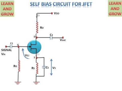 Self bias circuit for jfet learn and grow youtube self bias circuit for jfet learn and grow ccuart Choice Image