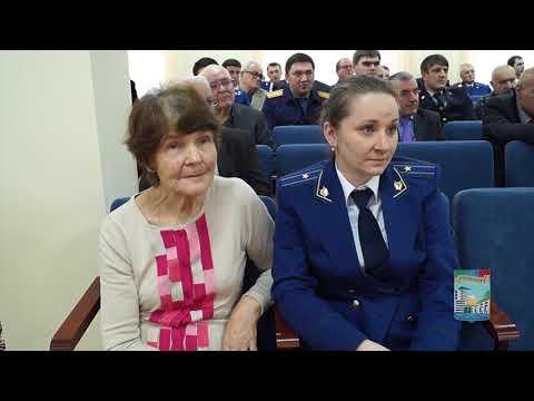 Дагестан. Органам прокуратуры России - 296 лет (г.Кизилюрт, 12 января 2018 года)