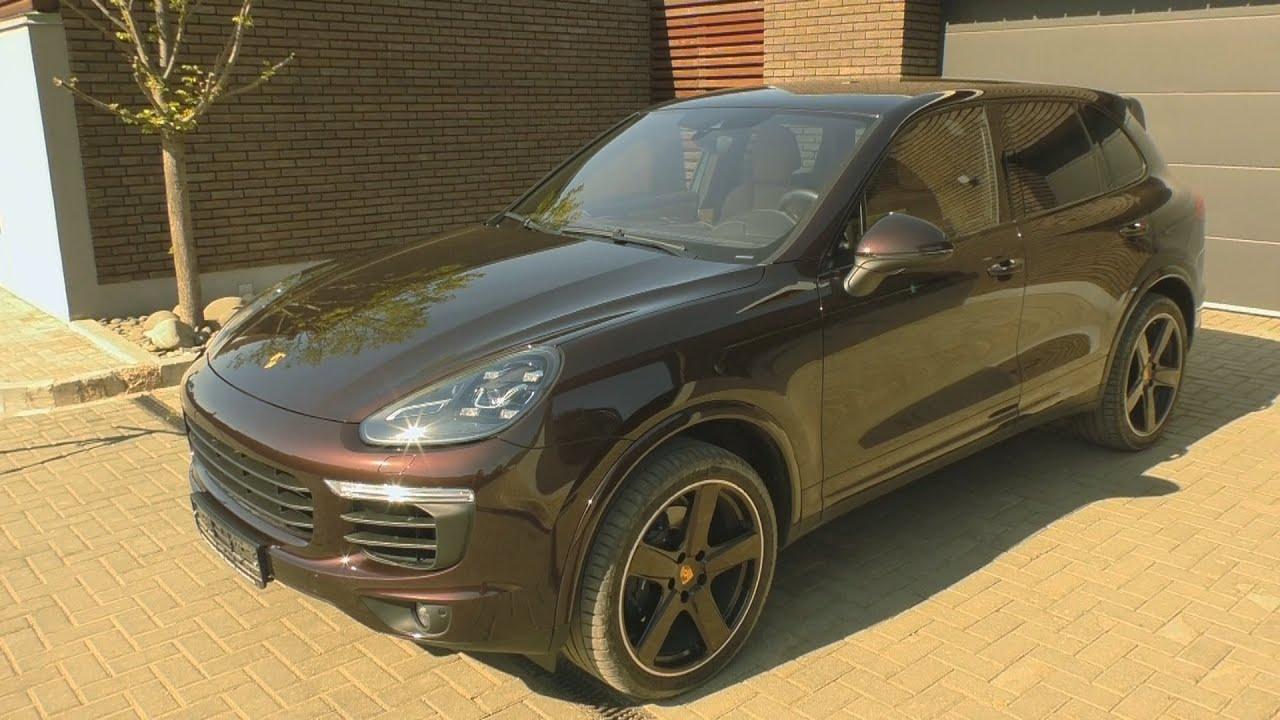 Обзор Porsche Cayenne 2016