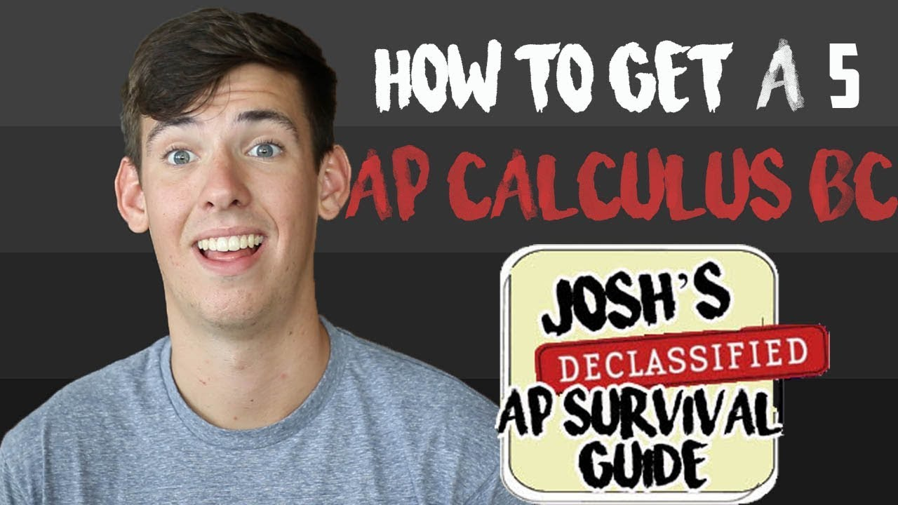 4a7328dbf AP CALCULUS BC: HOW TO GET A 5 - YouTube