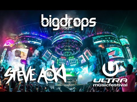 Steve Aoki Drops Only live @Ultra Music Festival, Miami 2015