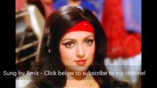 Dream girl | Kisi Shayar ki ghazal | Cover by Amit Agrawal | My Tribute to Kishore Kumar| Dharmendra